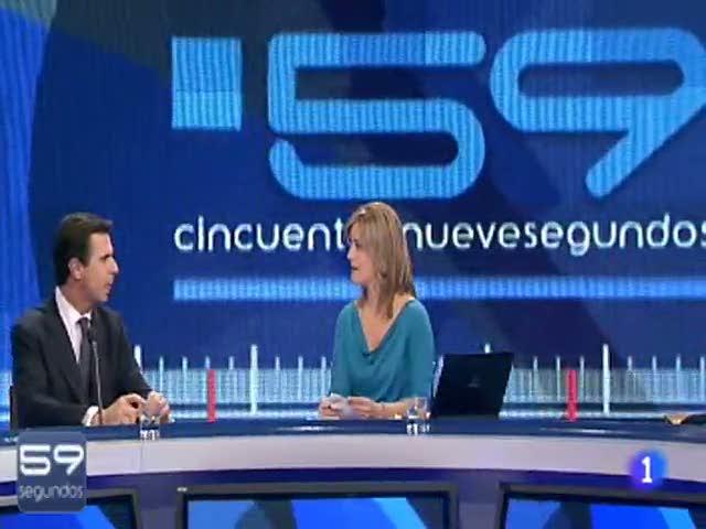 José Manuel Soria responde al test en 59'