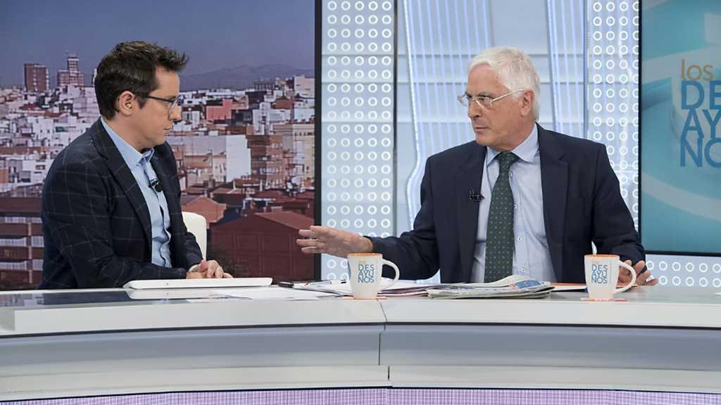 Los desayunos de TVE - José María Barreda,  diputado del PSOE y ex presidente de Castilla-La Mancha