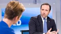 """Ir al VideoJosé Ramón Bauzá, presidente de las Islas Baleares: """"En el PP se puede hablar de todo, pero hay que hablar dentro y hay que seguir trabajando"""""""