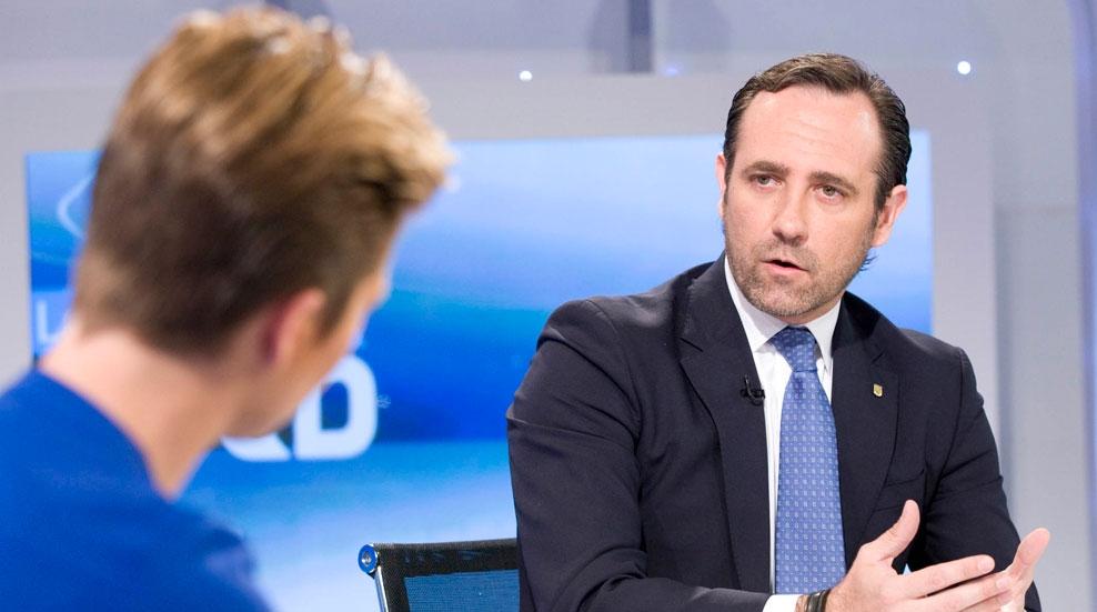"""José Ramón Bauzá, presidente de las Islas Baleares: """"En el PP se puede hablar de todo, pero hay que hablar dentro y hay que seguir trabajando"""""""