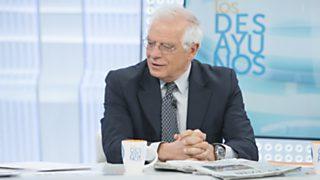 Los desayunos de TVE - Josep Borrell, expresidente del Parlamento europeo y exministro socialista
