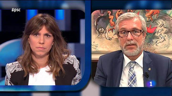 El Debat de La 1 - Josep Fèlix Ballesteros, president de la gestora del PSC