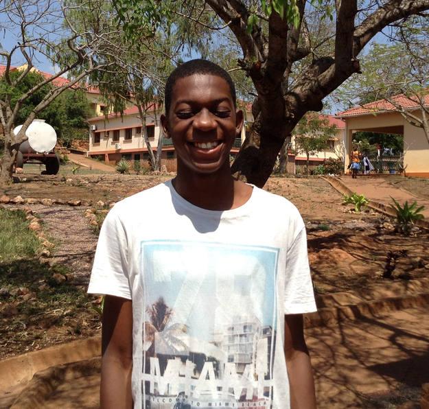 Jossías Timoteo Sambo, de 16 años