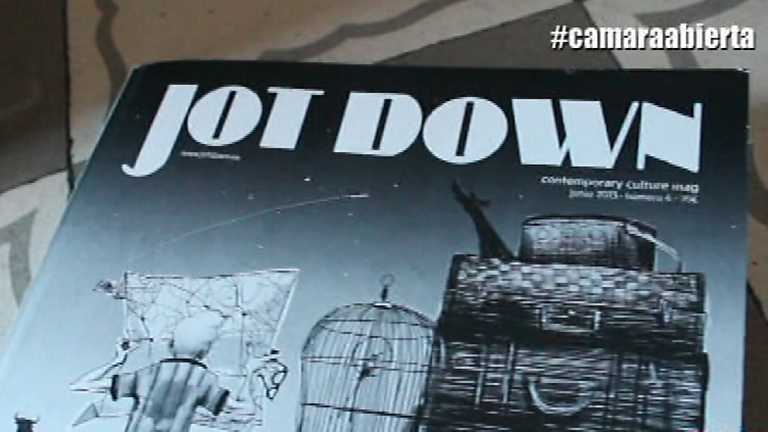 Cámara abierta 2.0 - JotDown Magazine, Conoce el Internet, A tu arte, Amparo Larrañaga en 1minutoCOM - 03/05/14
