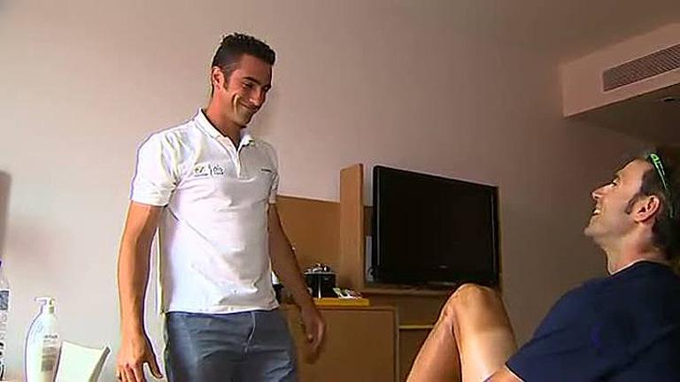 Juan Carlos, el guardaespaldas de Valverde