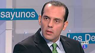 Los desayunos de TVE - Juan Verde, co-director internacional de la campaña de reelección del presidente Barack-Obama