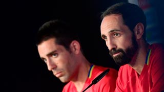 Juanfran espera que no tengan que llegar a los penaltis contra Italia