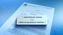 Ir al VideoEl juez Andreu imputa a todos los usuarios de las tarjetas opacas al fisco de Caja Madrid