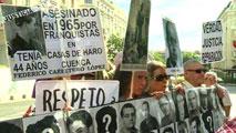 Ir al VideoUna juez argentina pide la detención de cuatro españoles acusados de tortura durante el franquismo