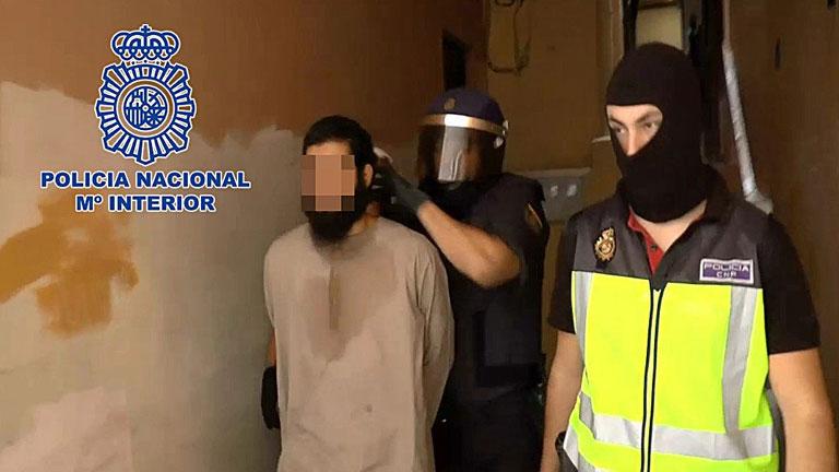 El juez decreta el ingreso en prisión para el presunto líder de una célula yihadista
