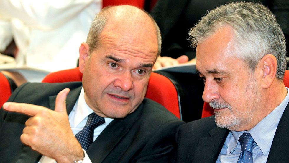 El juez del caso de los ERE procesa a los presidentes de la Junta de Andalucía Chaves y Griñán