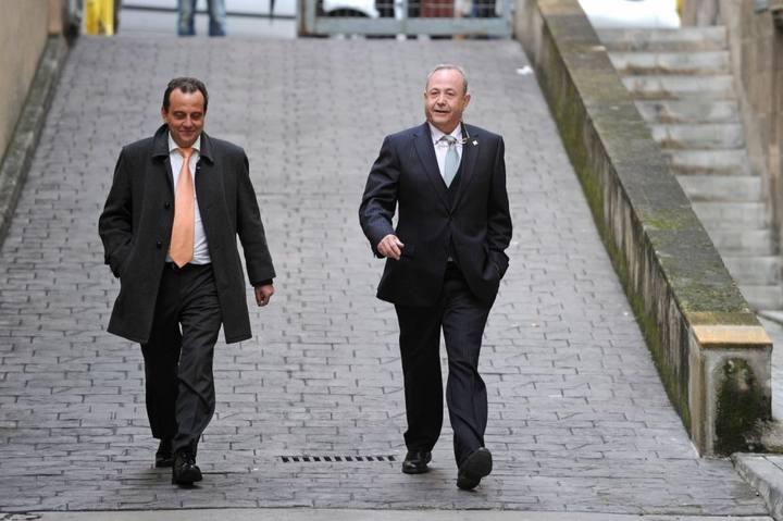 El juez José Castro y el fiscal Pedro Horrach