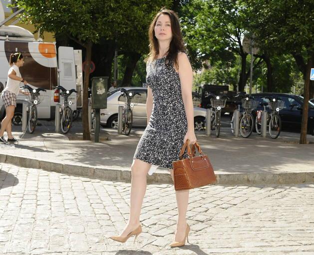 La juez Mercedes Alaya a su llegada al Juzgado de Sevilla