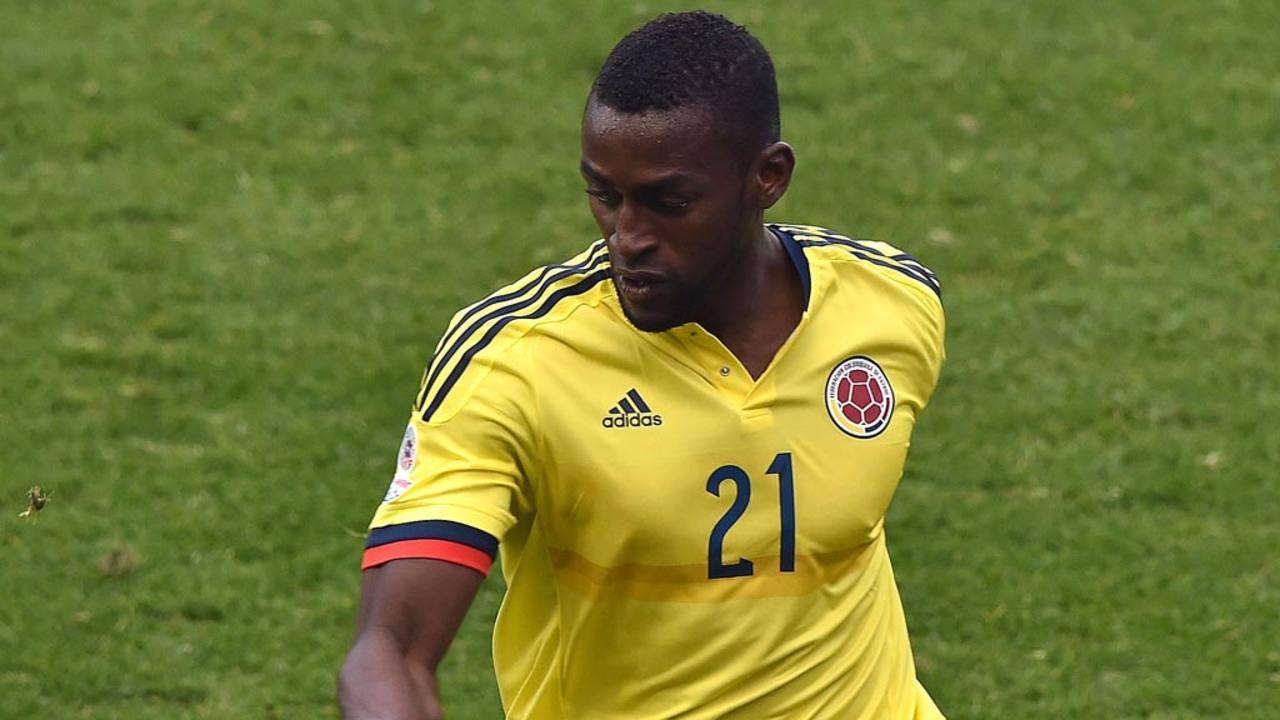 El jugador colombiano Jackson Martínez confirma su fichaje por el Atlético de Madrid.