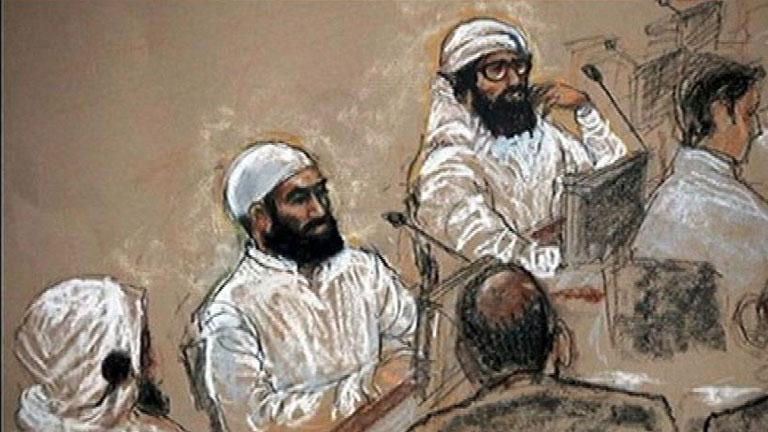 El cerebro del 11-S comparece ante un tribunal militar