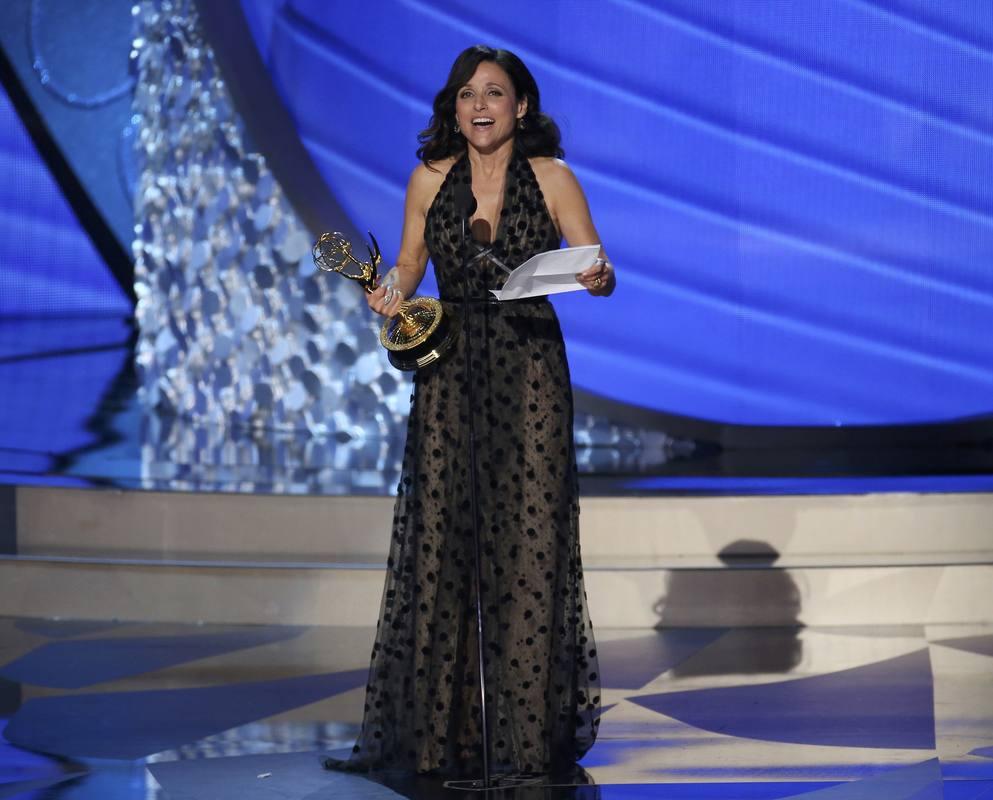 La protagonista de 'Veep' gana por quinta vez el premio a mejor actriz protagonista en comedia.