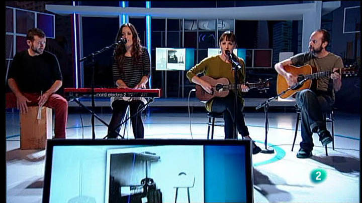 """Para Todos La 2 - Actuación - Julieta Jones, """"Showbiz"""""""