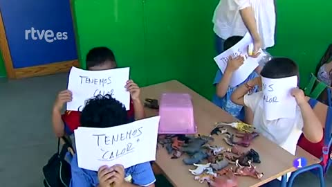 La Junta permite a los padres no llevar a los niños al colegio por la ola de calor