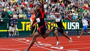 Justin Gatlin, a punto para los Juegos