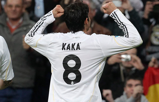 Kaká se reencuentra con el gol