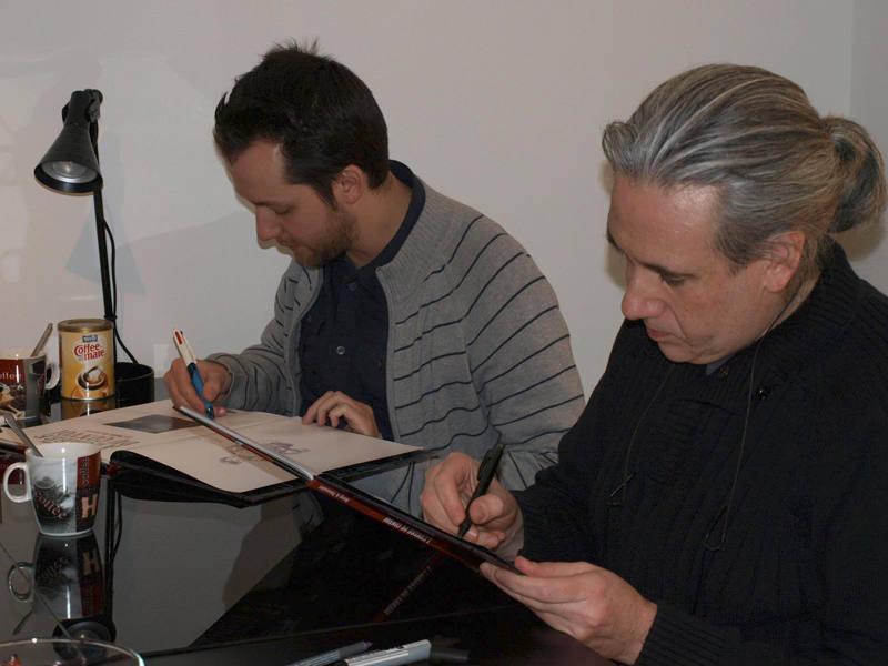 Kid Toussaint y José María Beroy