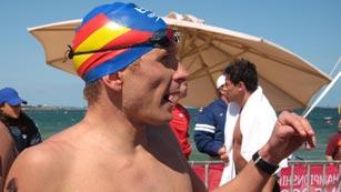 Kiko Hervás ultima su preparación para Londres 2012 en aguas abiertas