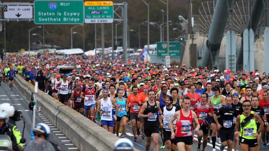 Kristine Switzer, protagonista del maratón con 70 años
