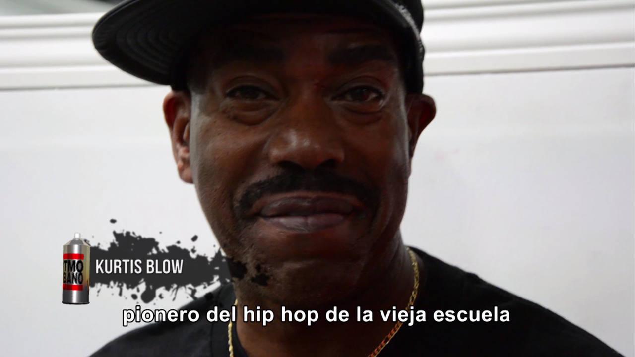 Kurtis Blow. Probablemente el primer MC de éxito a nivel mundia. Todo un caballero de los escenarios