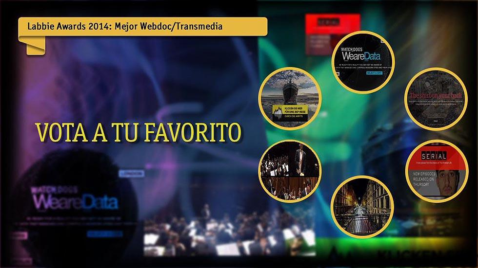 Labbie Awards 2014: Mejor webdoc / transmedia