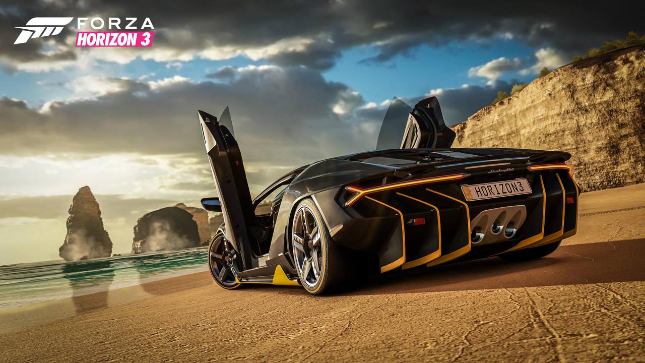 Lamborghini Centenario, uno de los coches destacados de 'Forza Horizon 3'
