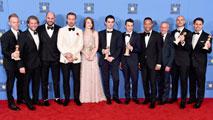 Ir al Video'La La Land' hace historia en los Globos de Oro con siete galardones