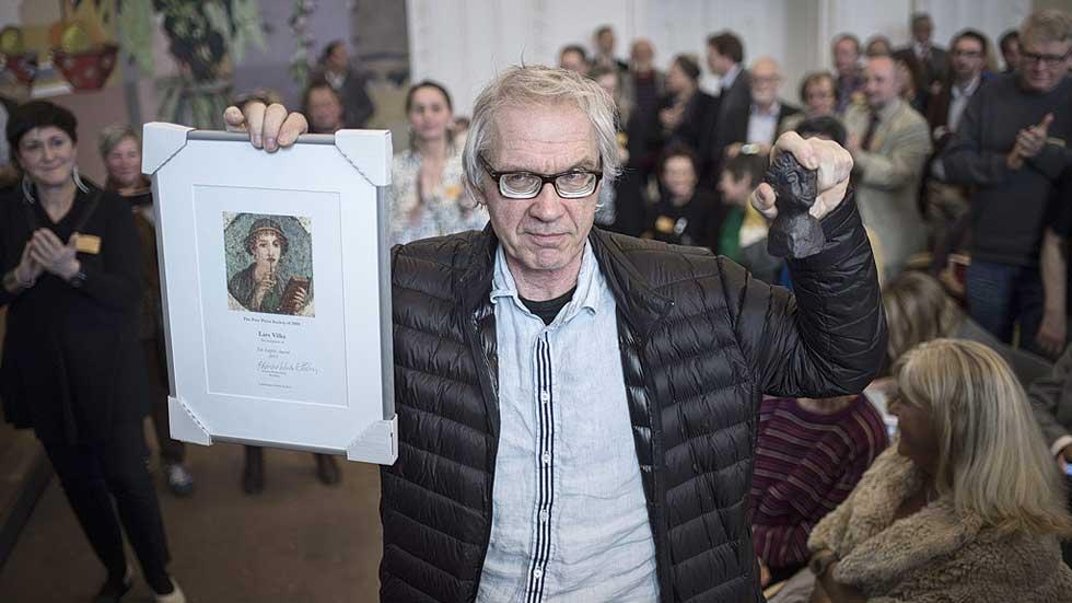 El artista Lars Vilks, premiado un mes después de los atentados de Copenhague