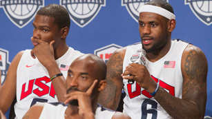 LeBron se une al 'Dream Team' de USA para Londres 2012