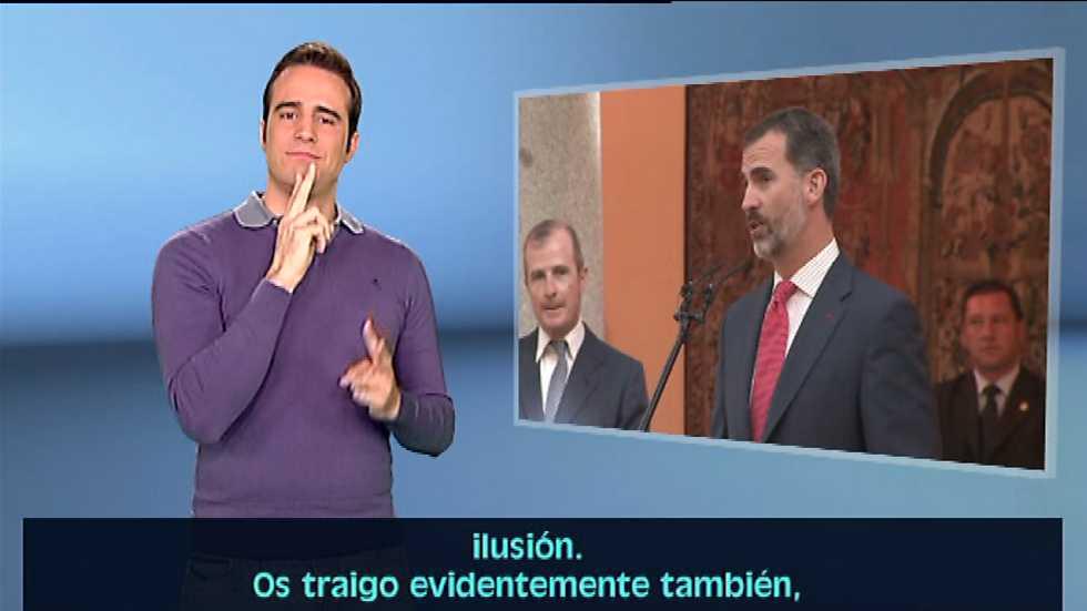 En lengua de signos - 08/11/14