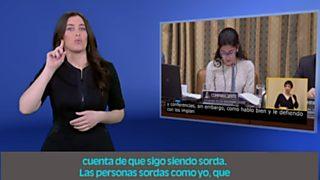 En lengua de signos - 26/02/17
