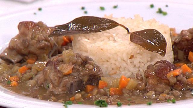 Saber Cocinar - Lentejas con verduras y escabeche de cerdo - 14/09/11