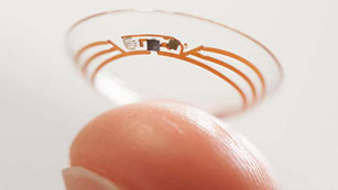 Google trabaja en un prototipo de lentillas para diabéticos