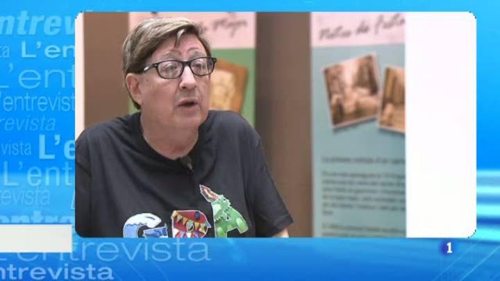 L'Entrevista de l'Informatiu Cap de Setmana - 15/08/2015. Josep Maria Contel, del Taller d'Història de Gràcia
