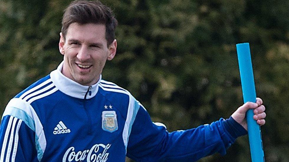 Leo Messi no está lesionado y tranquiliza a sus fans