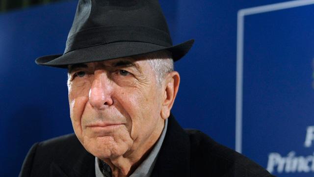 Leonard Cohen llega a Oviedo, dónde recibirá el Premio Príncipe de Asturias de las Letras