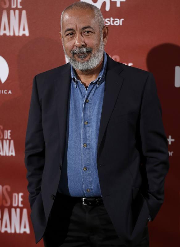 Leonardo Padura, en la presentación de 'Vientos de la Habana'.