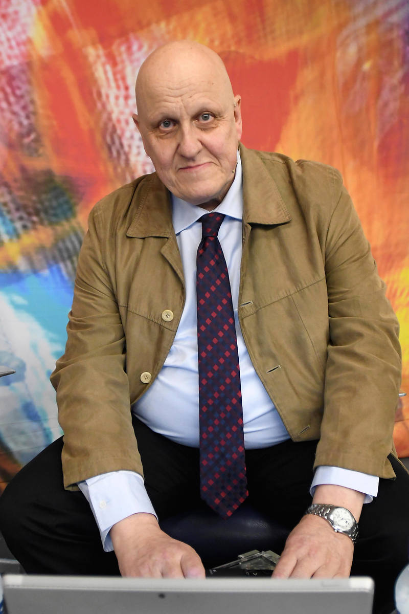 Leontxo García, periodista especializado en ajedrez y uno de sus principales divulgadores en España.