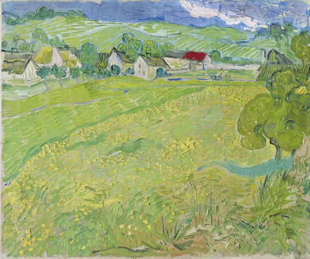 'Les Vessenots' en Auvers' (1890). Vicent Van Gogh. Museo Thyssen-Bornemisza, Madrid