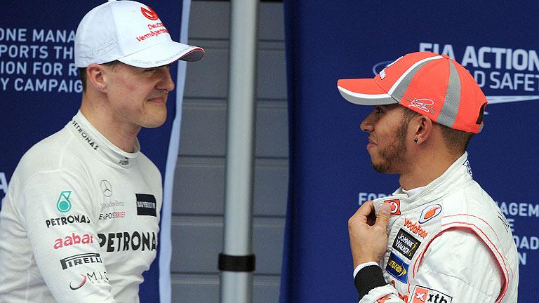 Lewis Hamilton cambia su Fórmula 1 de McLaren a Mercedes