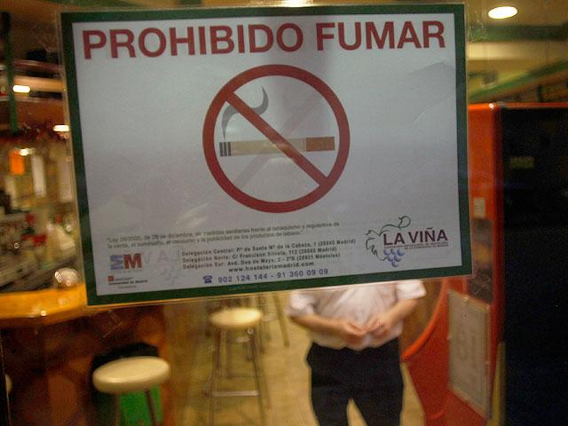 Este domingo entró en vigor la ley antitabaco