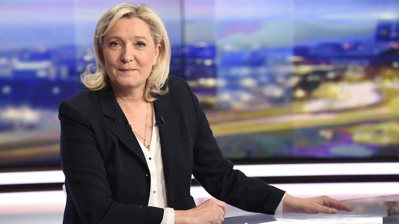 La líder del Frente Nacional, Marine Le Pen, durante una entrevista el 8 de febrero de 2016. AFP / LIONEL BONAVENTURE