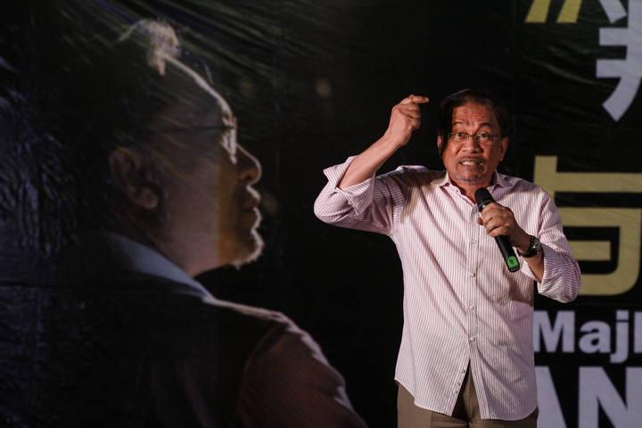 El líder opositor malasio, Anwar Ibrahim