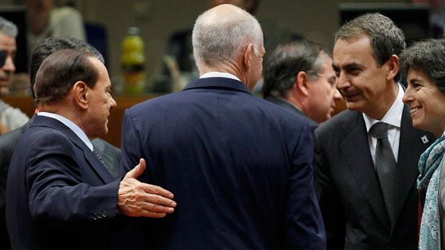 Los líderes de la zona euro acuerdan elevar al 50 % la quita de Grecia