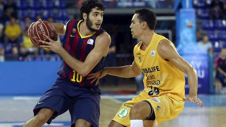 Baloncesto - Liga ACB. 3ª jornada. FC Barcelona - Herbalife Gran Canaria
