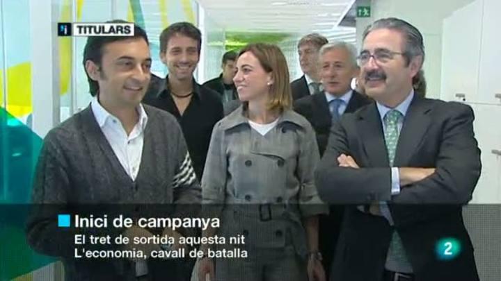 L'informatiu vespre - 03/11/2011